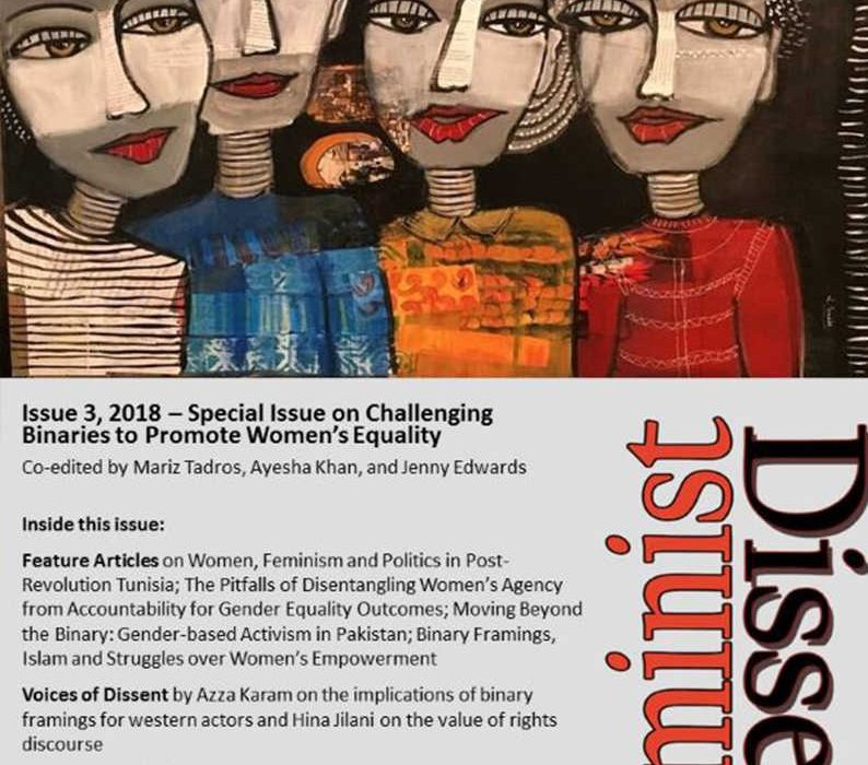 Feminist Dissent - Issue 03 - Challenging Binaries to Promote Women's Equality